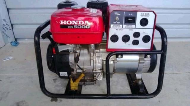 Where to find HONDA GENERATOR - EG5000X in Cleveland