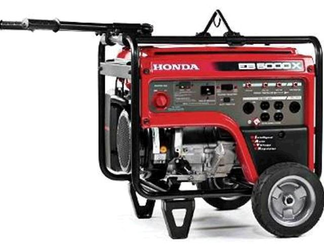Where to find HONDA GENERATOR - EB5000X in Cleveland