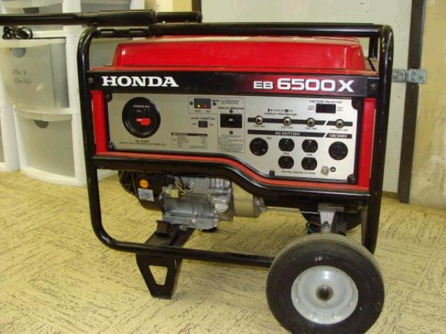 Where to find HONDA GENERATOR - EB6500X in Cleveland