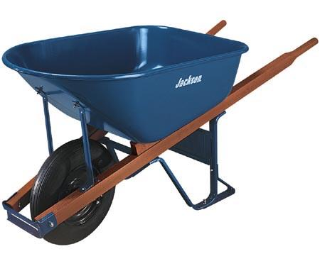 Where to find 6 CUBIC FT WHEELBARROW in Cleveland