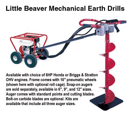 Where to find 1MAN CABLE DRIVEN AUGER 8HP in Cleveland