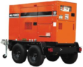 Where to find GENERATOR 70 KVA TOWABLE in Cleveland