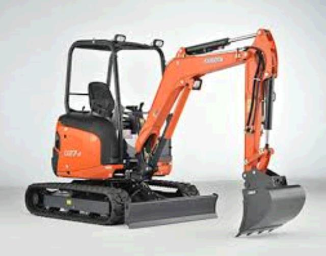 Where to find KUBOTA MINI EX U27 W ROPS STD BLD in Cleveland
